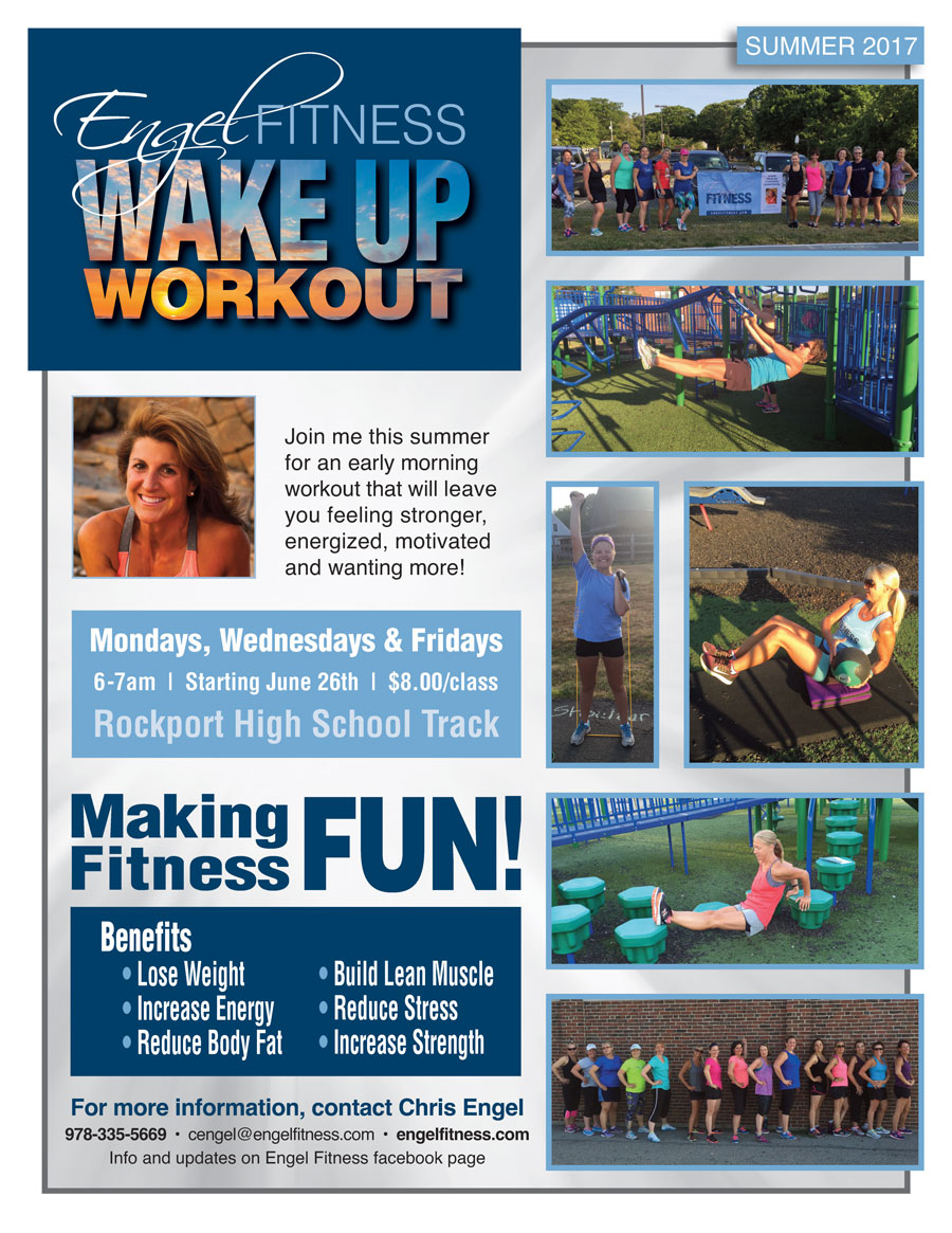 Engel Fitness Bootcamp Flyer